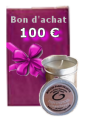 Chèque cadeau d'une valeur de 100 €